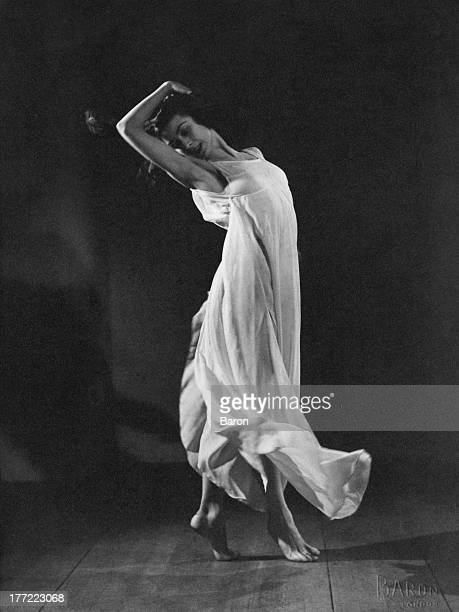 British ballerina Dame Margot Fonteyn in 'Dante Sonata' circa 1940 The ballet first performed in 1940 is set by Frederick Ashton to the music of...
