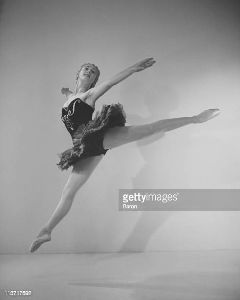 British ballerina director and choreographer Gillian Lynne in 'Ballet Imperial' by George Balanchine 1950