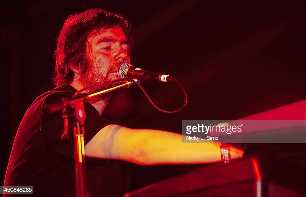 British band Arab Strap on stage at the Reading Festival UK 1999