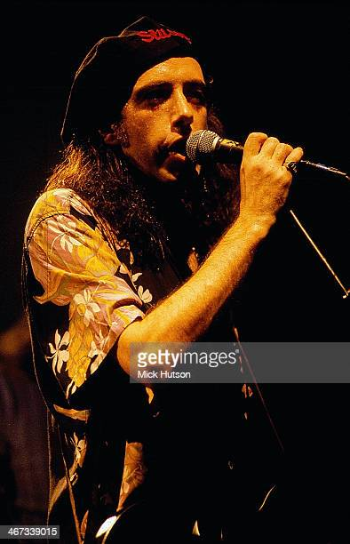 British band Big Audio Dynamite on stage, 1991.