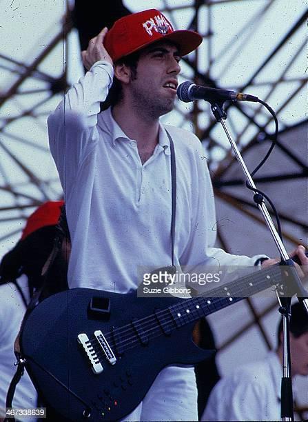 British band Big Audio Dynamite on stage, circa 1995-2000.