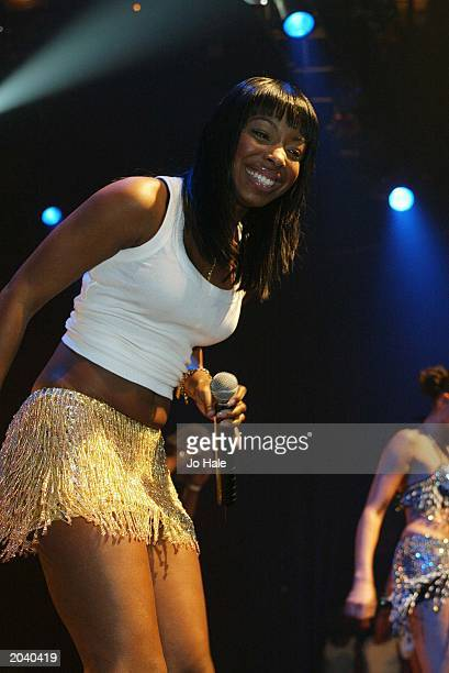 British band MisTeeq perform live on stage at GAY at the Astoria London on March 29 2003