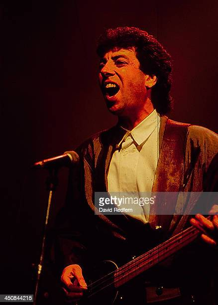 British band Wax on stage at MIDEM France 1988