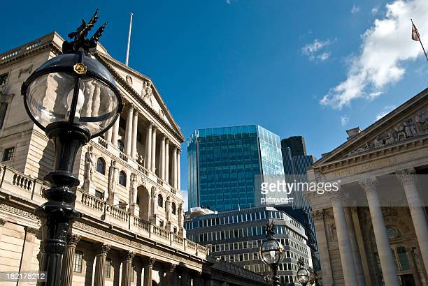 british banking - bank of england stock photos and pictures