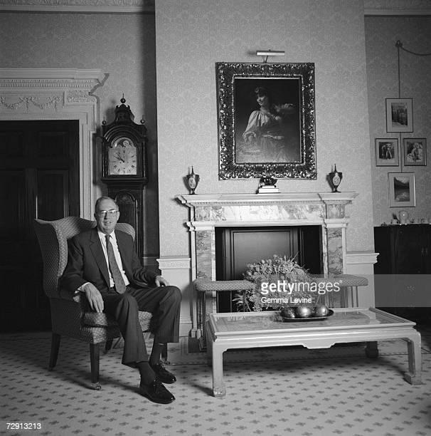 British barrister and statesman Robert Alexander Baron Alexander of Weedon circa 1994