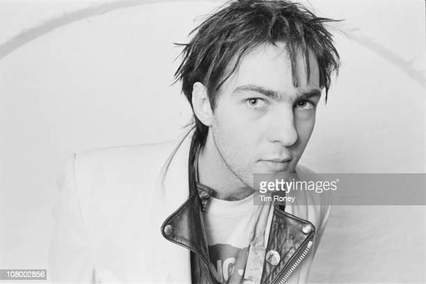 British bass guitarist and producer Martin Glover aka Youth of postpunk group Killing Joke circa 1980