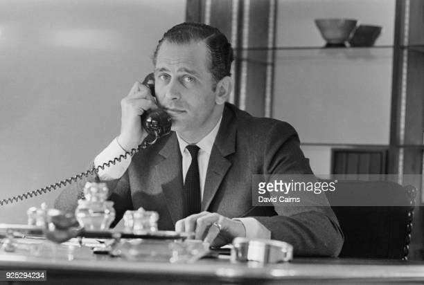 British billionaire financier Evelyn de Rothschild, new member of Beaverbrook News[paper Board, UK, 11th May 1968.