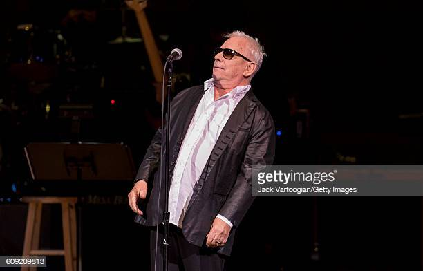 British Blues and Rock musician Eric Burdon performs onstage during Lead Belly Fest at Carnegie Hall New York New York February 4 2016