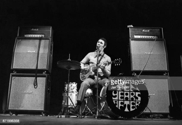 British blues musician Duster Bennett performing in Copenhagen Denmark February 1969