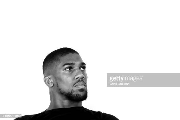 British boxer Anthony Joshua attends the launch of Made by Sport at Black Prince Trust on June 12 2019 in London England Made by Sport is a new...