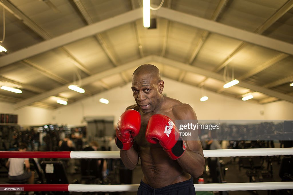 Frank Bruno Portrait Shoot