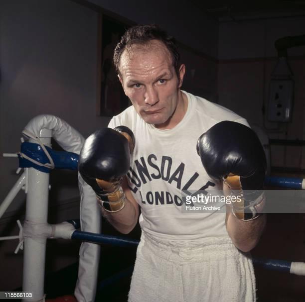 British boxer Henry Cooper in training 1969
