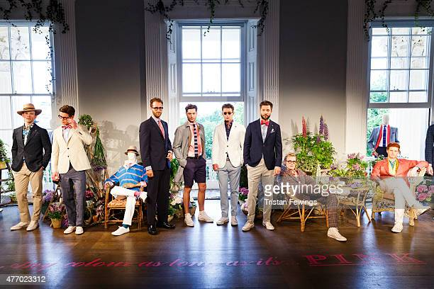 British brand Thomas Pink, part of the Moet Hennessey Louis Vuitton group, unveils its Spring/Summer 2016 collection at the Institute Of Contemporary...