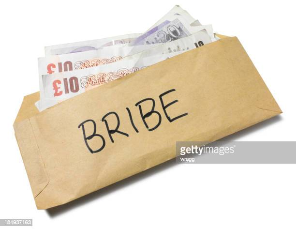 British Bribe in a Envelope