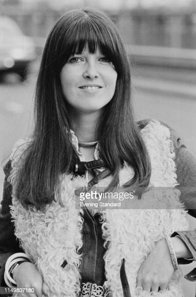 British broadcaster and journalist Cathy McGowan UK 24th October 1975