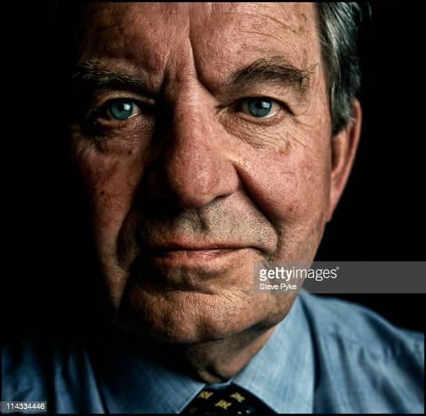 British broadcaster and newsreader Richard Baker in London 1998
