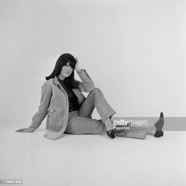British broadcaster Cathy McGowan presenter of the music televsion programme Ready Steady Go pictured in London in March 1965