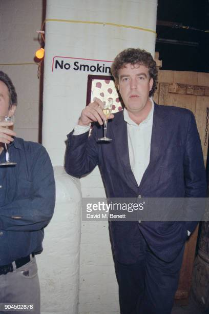 British broadcaster journalist and television host Jeremy Clarkson at the Spirit of the Himalayas Charity Party London UK 20th March 1998