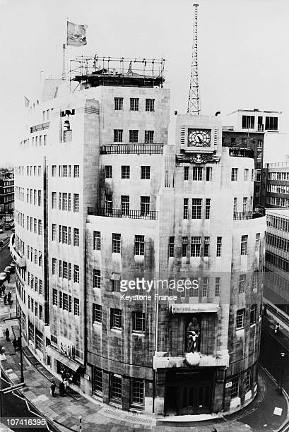 British Broadcasting Corporation Headquarters At Oxford Circus In England