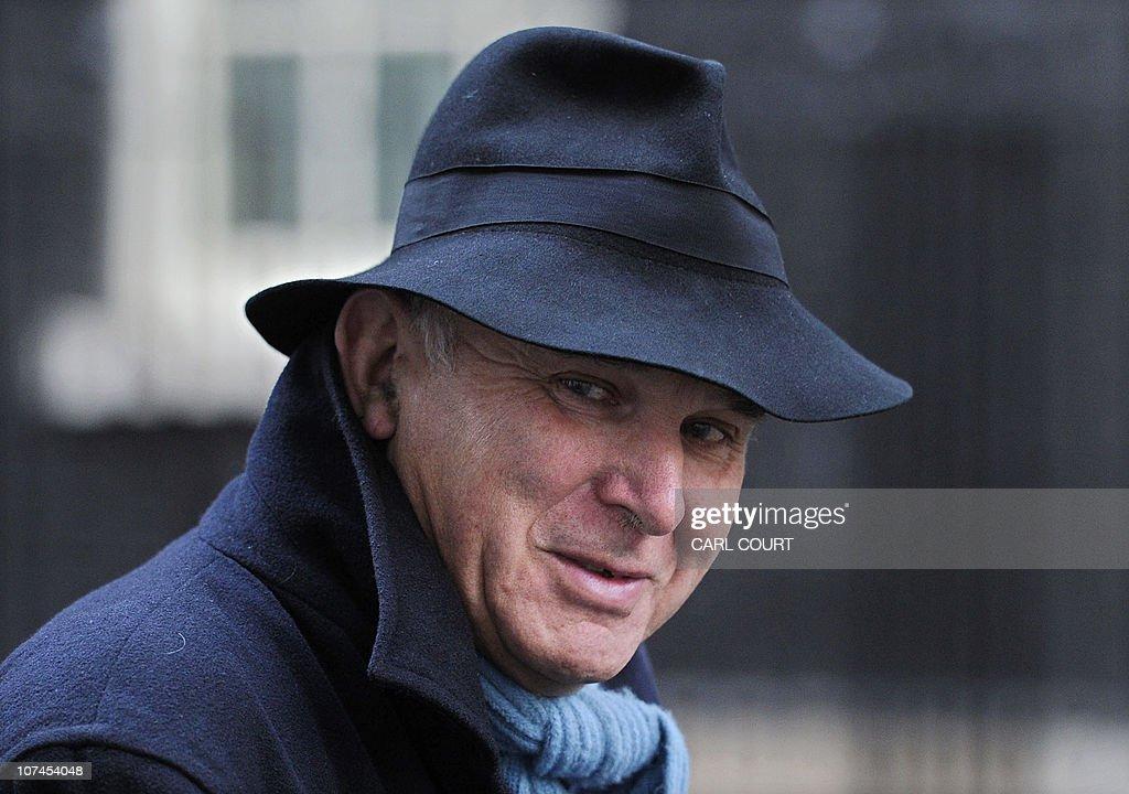 British Business Secretary Vince Cable l : News Photo