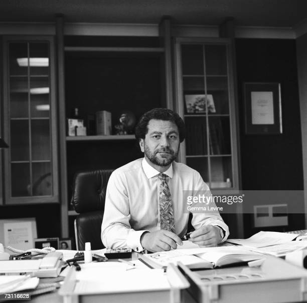 British businessman Alan Sugar circa 1987