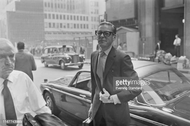 British businessman Angus Ogilvy , UK, 6th July 1976.