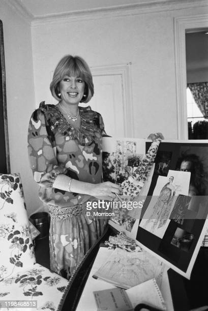 British businesswoman Dale Tryon Baroness Tryon UK 16th March 1985
