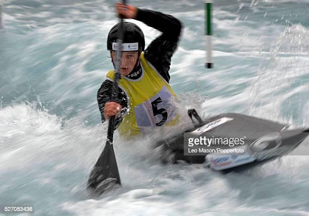 British Canoe Slalom Championships Lee Valley White Water Centre UK Womens Kayak Class Mallory Franklin