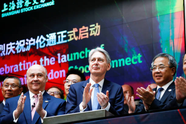 GBR: Chancellor Hammond Hosts China's Vice-Premier Hu Chunhua