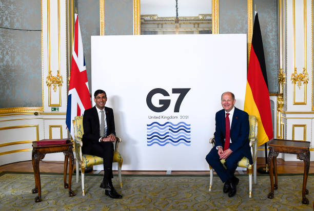 GBR: G7 Finance Ministers Meet In London - Day 2