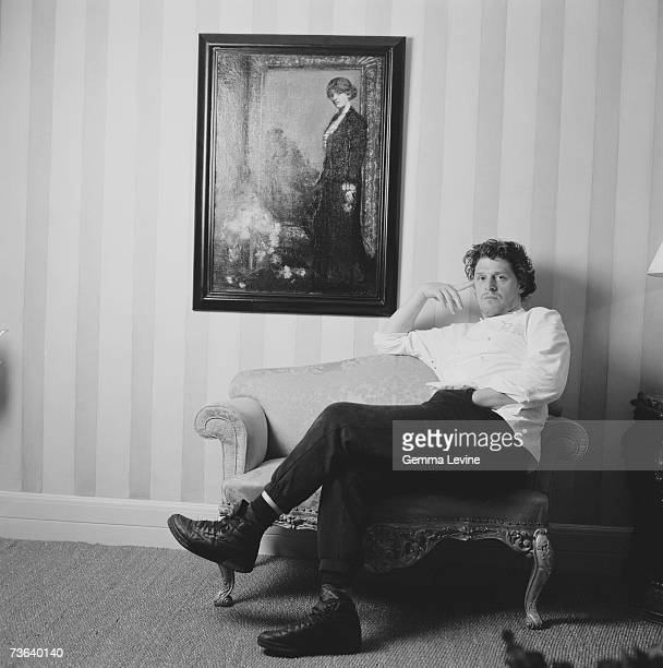 British chef and restaurateur Marco Pierre White at the Hyde Park Hotel London circa 1994