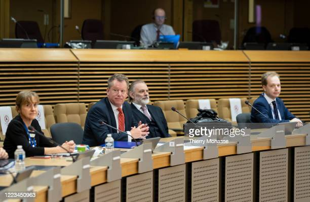 British Chief Negotiator of Task Force Europe at the Cabinet Office David Frost British Ambassador to the European Union Sir Tim Barrow and Oliver...