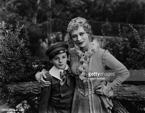 British child actor Freddie Bartholomew starring in 'Little Lord Fauntleroy' with Dolores Costello