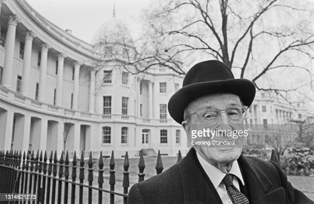 British civil servant Sir Charles Bruce Locker Tennyson , UK, 16th March 1974. He is a grandson of the poet Alfred Lord Tennyson.