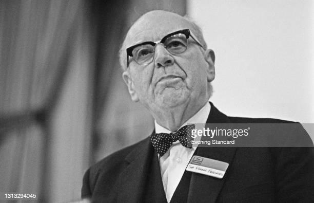 British civil servant Sir Frank Edward Figgures , UK, 21st November 1973.