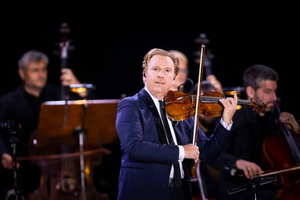 CZE: Daniel Hope Performs Vivaldi Concert On Vltava River In Prague