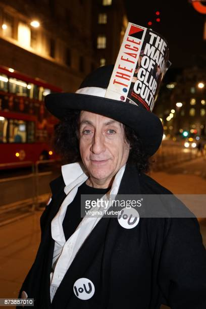 British club promoter and socialitie Philip Sallon pictured at a launch for the book 'The Story Of The Face' by Paul Gorman London 9th November 2017...