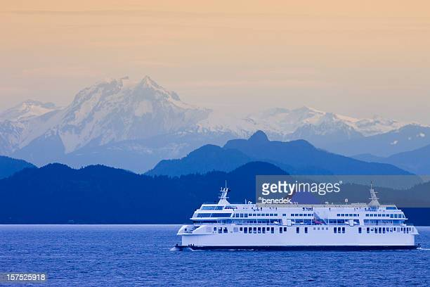 british columbia ferry - british columbia stock pictures, royalty-free photos & images