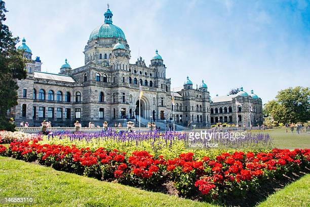 british columbia parliament buildings, victoria b. - british columbia stock pictures, royalty-free photos & images