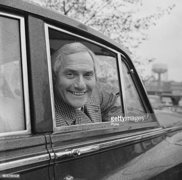 British comedian and actor Dick Emery leaving Dunstable Courthouse after being found guilty of dangerous driving and fined £30 Luton UK 29th October...