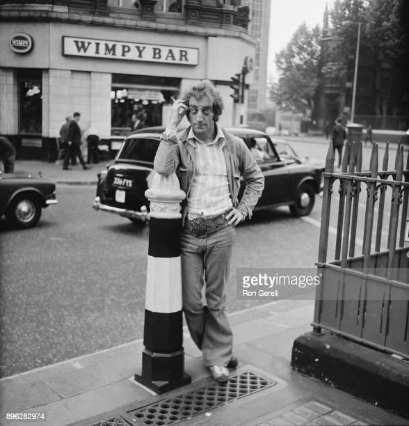 British comedian and writer Marty Feldman London UK 20th July 1971