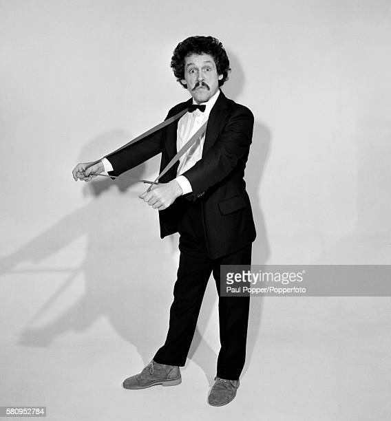 British comedian Bobby Ball, whose catchphrase was 'Rock on Tommy' photographed in Manchester circa 1980.