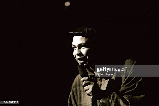 British comedian Craig Charles performs during the Red Wedge Comedy Tour, The Coronet, Woolwich, London, 3/28/1986. During the latter half of the...