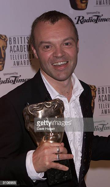 British comedian Graham Norton attends the BAFTA Television Awards held at the Grosvenor House Hotel on Park Lane on May 14, 2000 in London.