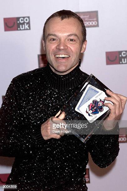 British comedian Graham Norton attends the LWT Awards held at the LWT studios on November 21, 2000 in London.