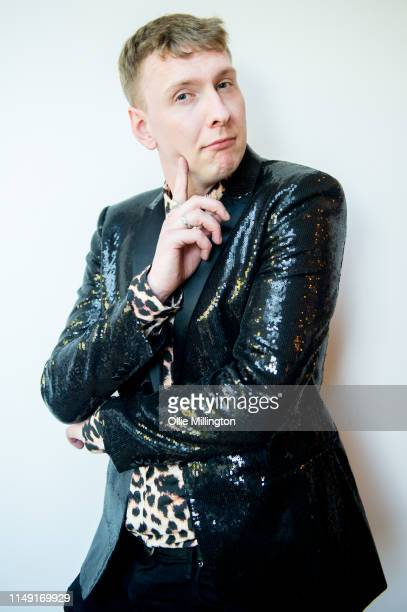 British Comedian Joe Lycett poses for portraits after officially opening his new kitchen extension at his home on May 14 2019 in England