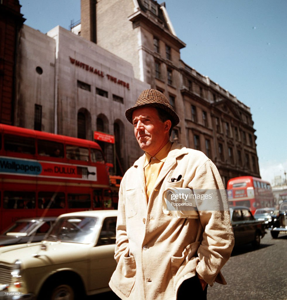 British comedy actor Brian Rix, famous for his work at London+s Whitehall Theatre where he appeared in farce. 1966. : News Photo