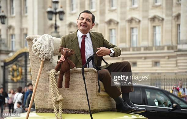 British comedy icon Mr. Bean heads to Buckingham Palace to celebrate 25 years, the release of Mr. Bean 25th Anniversary DVD Boxset, and new animated...