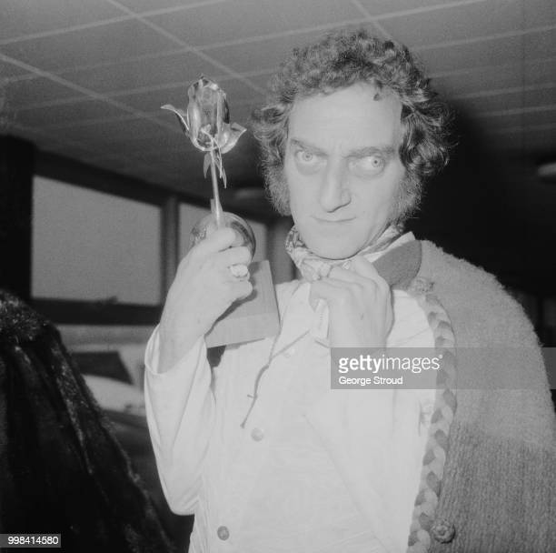 British comedy writer comedian and actor Marty Feldman whose sketch comedy television series won Silver Rose Award at the 'Rose d'Or A Eurovision...