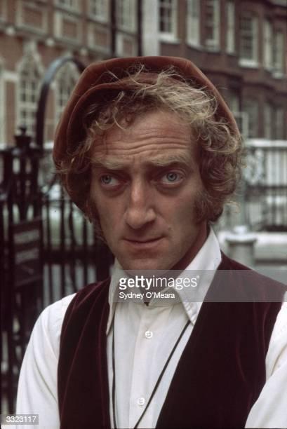 British comic actor Marty Feldman